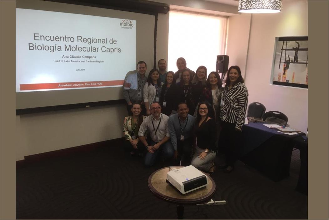 Regional Molecular Biology Meeting held in Costa Rica by Molbio Distributor Capris