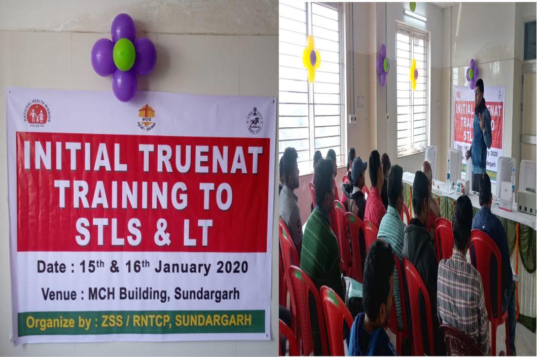 Truenat Training to STLS and LT, Sundargarh