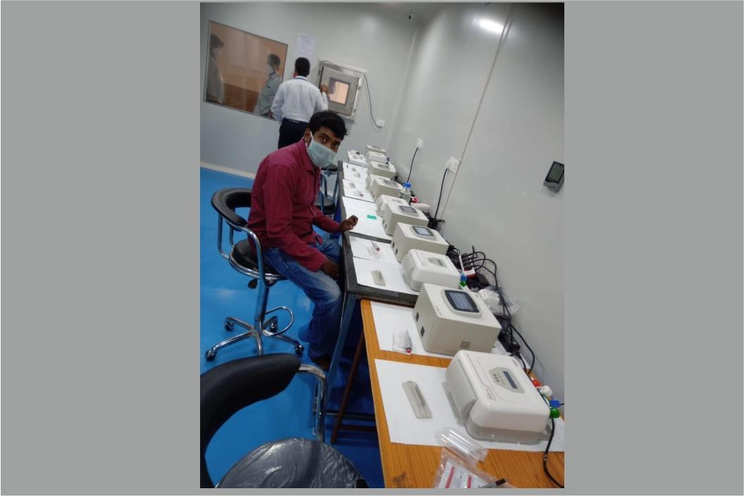 Covid Lab at govt Sidhartha medical college, vijayawada, Andhra Pradesh
