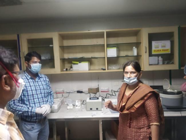 Truenat installed at District Hospital, Noida