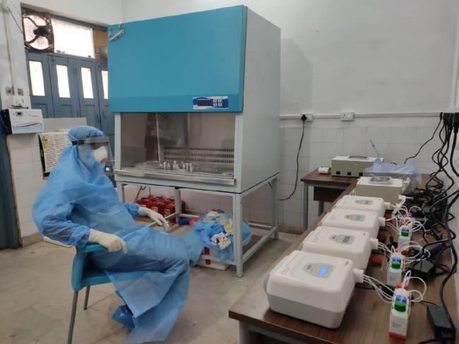 Truenat Installed at Sadar Hospital Bihar for COVID-19 Testing
