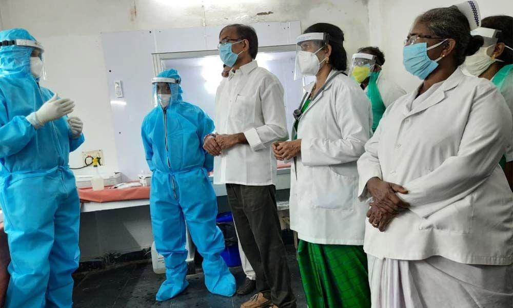 Truenat Installed at Gudivada Hospital Andhra Pradesh