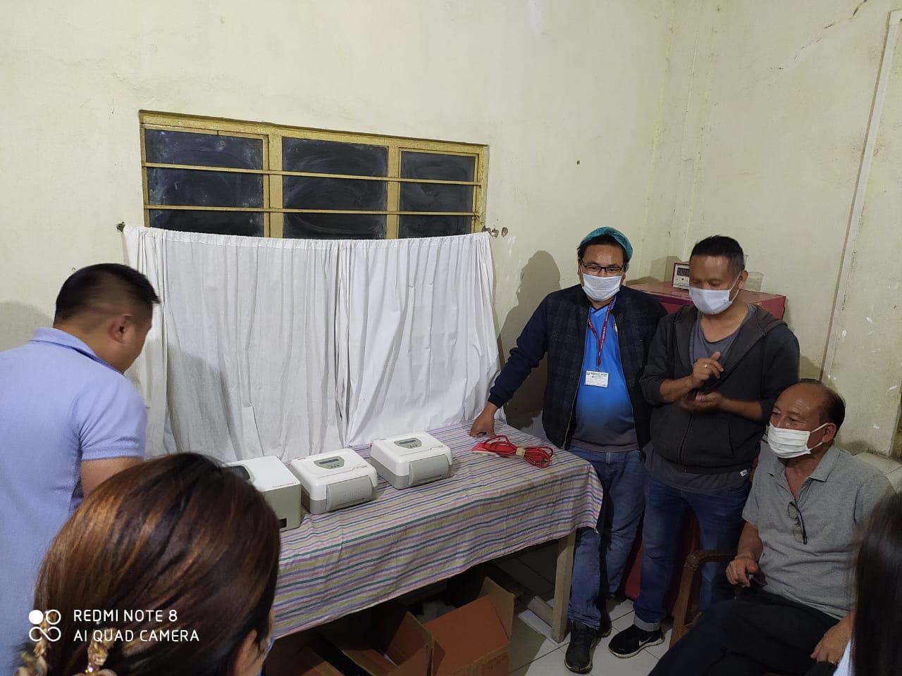 TrueNat Quattro machine installed in District Hospital Tuensang