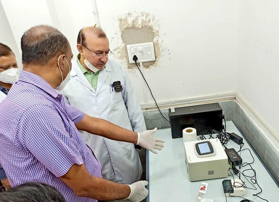 CCL Gandhinagar Truenat Installation for Corona Testing